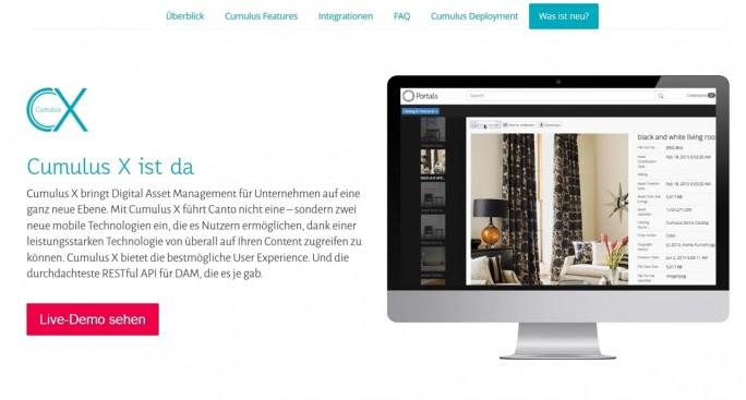 Cumulus will mehr sein als nur eine Bildverwaltung. Die Lösung steht für ein komplettes Digital Asset Management im Unternehmen (Screenshot: Mehmet Toprak)