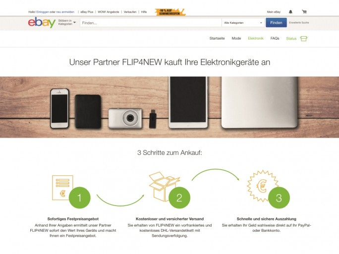 eBay_Komfort_Elektronik_Website (Screenshot: Ebay)
