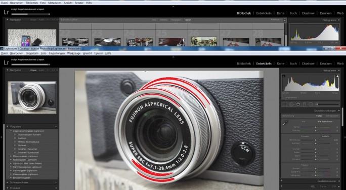 Fotografen, die im RAW-Format fotografieren, nutzen Adobe Lightroom für die digitale Entwicklung der Fotos. (Screenshot: Mehmet Toprak)