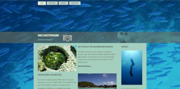 strato-homepage-baukasten (Screenshot: Strato)-parallax-design