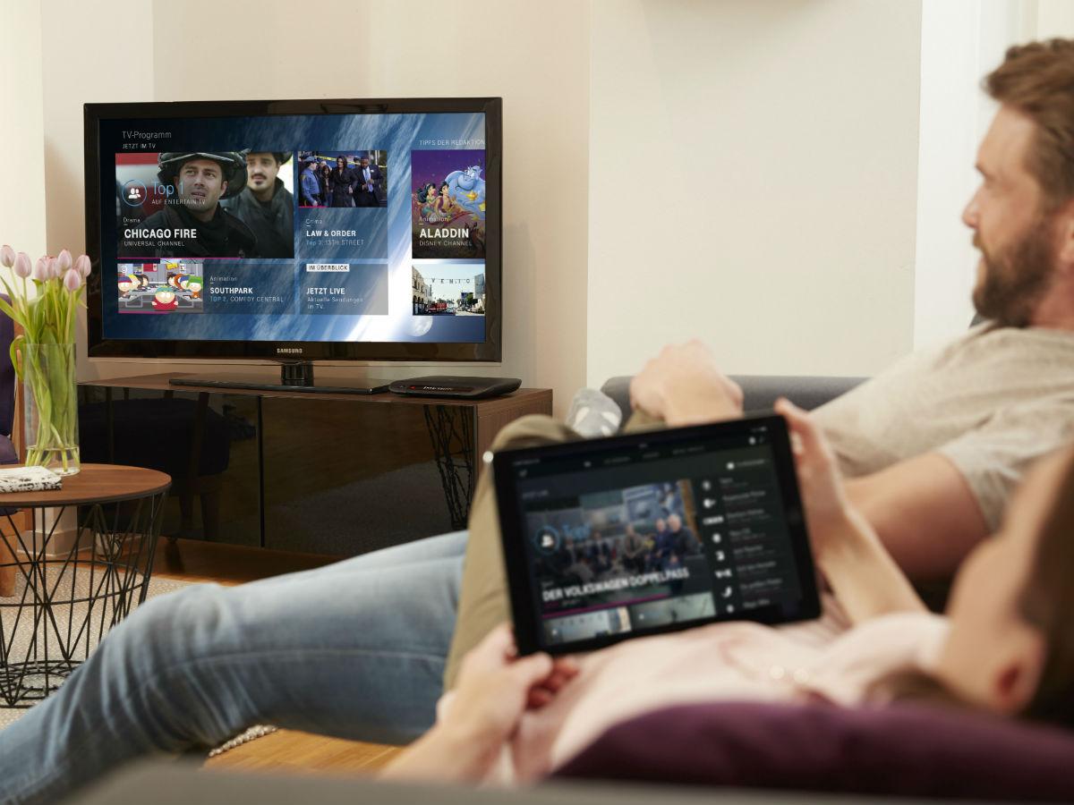 entertaintv runderneuertes iptv angebot der telekom geht. Black Bedroom Furniture Sets. Home Design Ideas