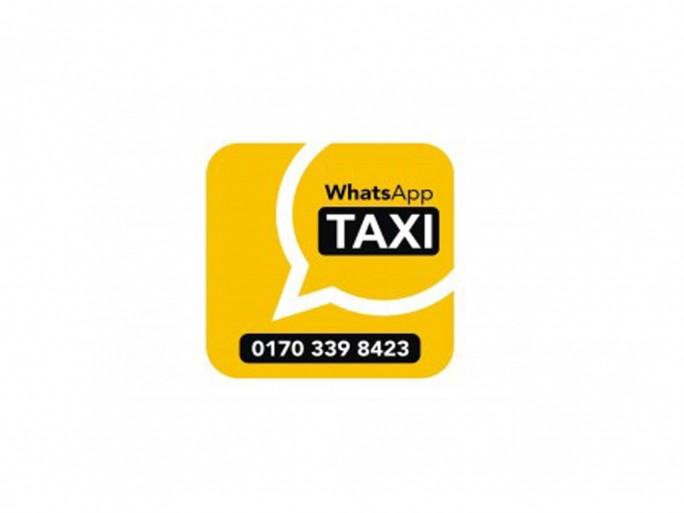 WhatsApp Taxi (Grafik: Taxi Deutschland e.G)