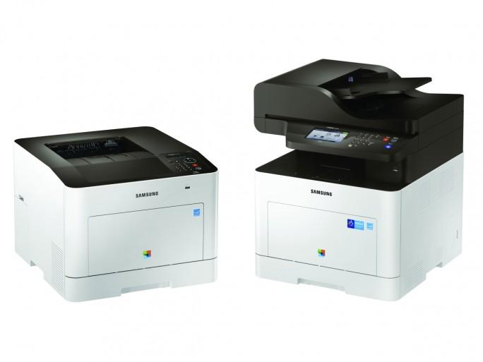 ProXpress-C3060FR_001_Front_Cream-White (Bild: Samsung)