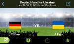 Kostenlose App zeigt Spiele der Fußball-EM auch unterwegs