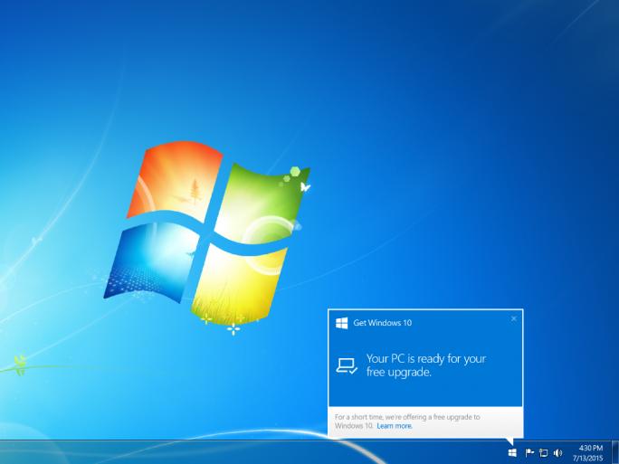 windows10-benachrichtigung (Bild: Microsoft)
