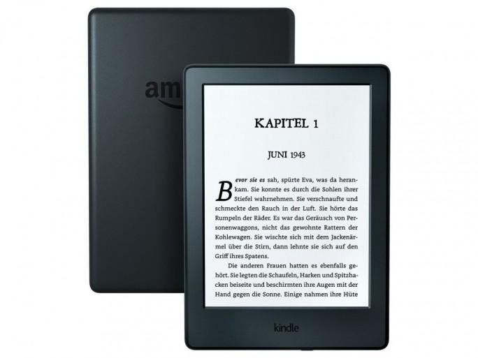 Der neue Einstiegs-Kindle ist etwas kleiner, dünner und 30 Gramm leichter als das technisch identische Vorgängermodell (Bild: Amazon)