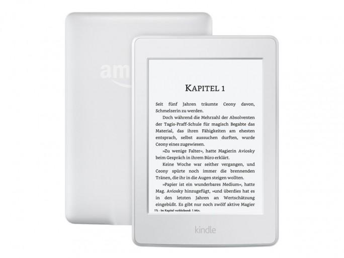 Den Kindle Paperwhite gibt es jetzt auch in Weiß (Bild: Amazon).