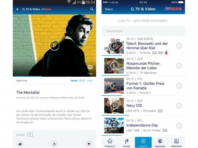 """In Kürze soll die """"O2 TV & Video App"""" auch für iOS erscheinen (Bild: Telefónica)."""