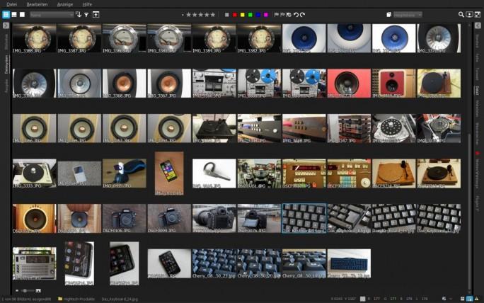 Ganz auf Fotos konzentriert. Menüleisten und Werkzeuge lassen sich ausblenden. (Screenshot: Mehmet Toprak)
