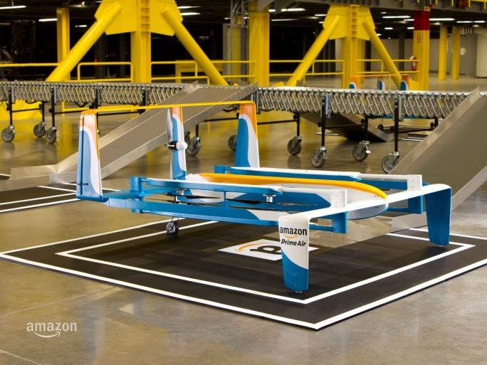 Lieferdrohne Amazon PrimeAir (Bild: Amazon)