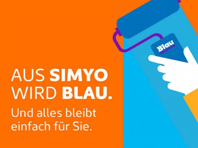 Aus Simyo wird Blau (Bild: Telefónica)