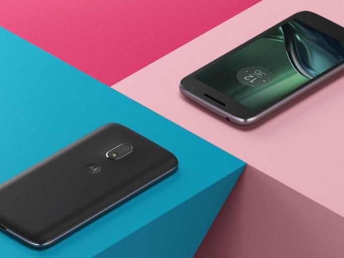Das Moto G4 Play entspricht technisch weitgehend dem Vorjahresmodell Moto G3 (Bild: Lenovo).