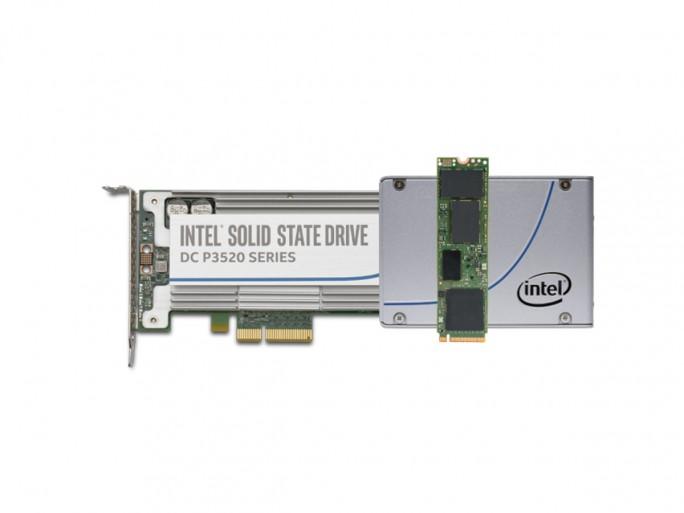 SSD DC-P3520 (Bild: Intel)