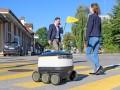 Lieferroboter von Starship Technologies im Test (Bild: Schweizerische Post)