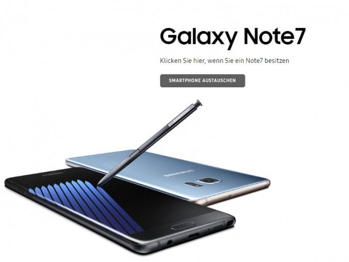 Samsung startet Austasuchprogramm für Galaxy Note 7 (Bild: ZDNet.de)