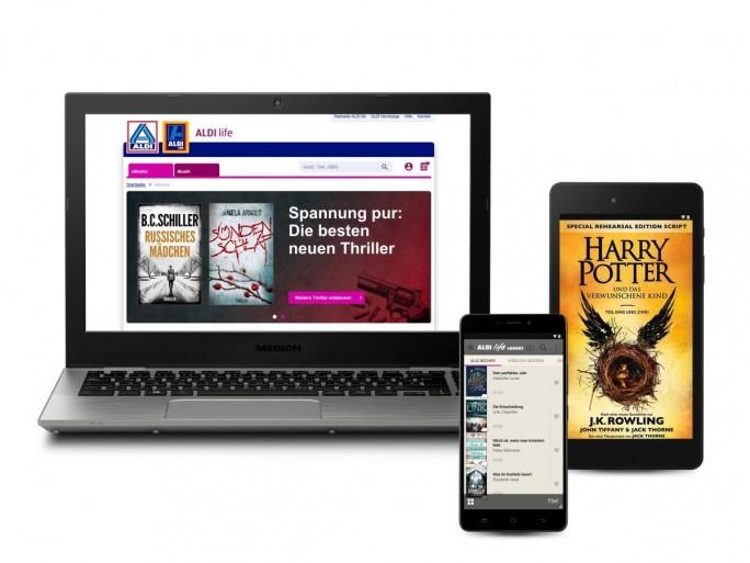 E-Books von Aldi (Bild: Aldi)