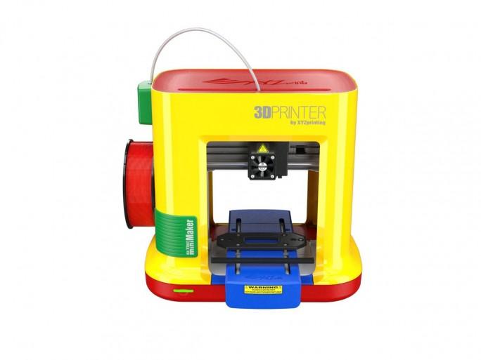 Den da Vinci miniMaker von XYZPrinting gibt es demnächst für 289 Euro auch beim Spielwarenhändler Toys R Us (Bild: XYZPrinting)