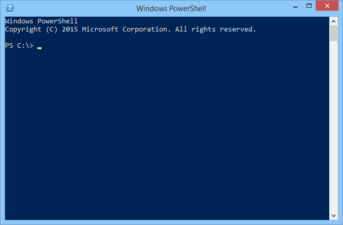 Windows Power Shell (Bild: Microsoft)