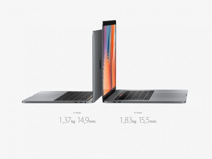 Macbookpro Touchbar (Bild: Apple)