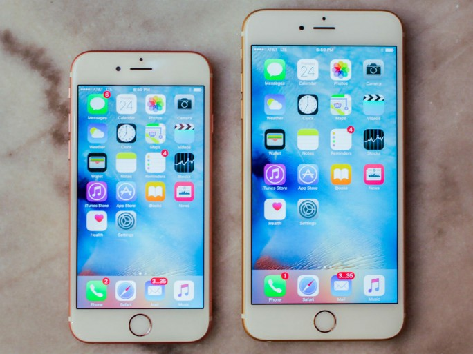 Apple iPhone 6s-plus (Bild: Apple)
