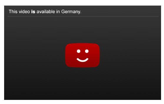Youtube hat auf die Einigung mit der GEMA bereits mit einem kleinen Bild reagiert (Grafik: Youtube)
