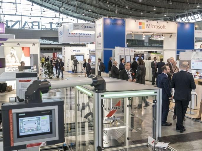 Showcase Smart FactoryIT+Business (Foto: Messe Stugart)