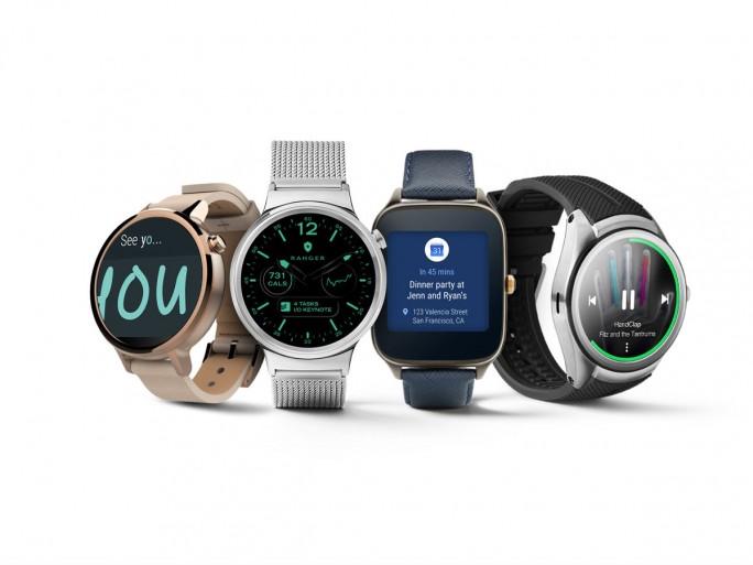 Swartwatches mit Android Wear 2.0 (Bild: Google).