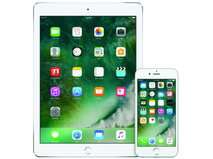 iOS 1^90, iPad, iPhone (Bild: Apple)