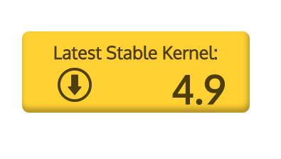 Linux Kernel 4.9 Download