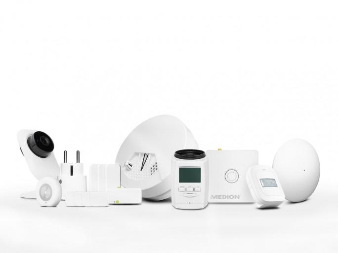 Smart Home-Portfolio von Medion (Bild: Medion)