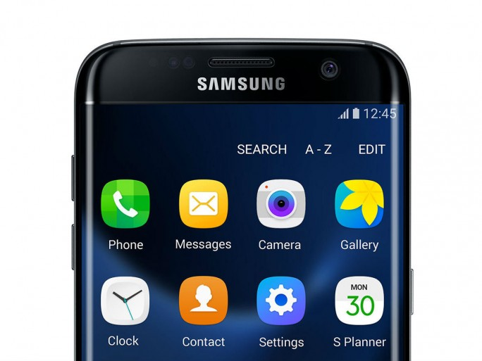 Samsung Galaxy S7 Edge Touchscreen (Bild: Samsung)