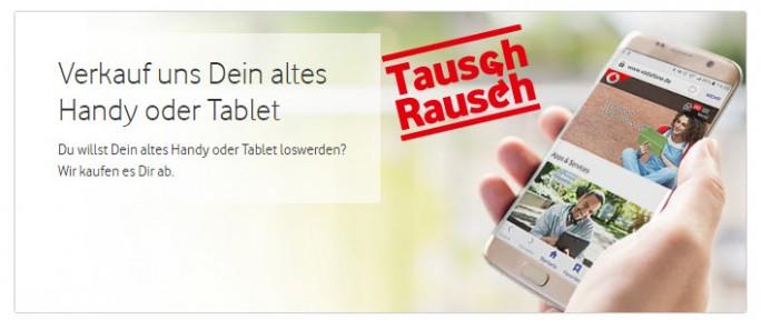 TauschRausch bei Vodafone (Bild: Vodafone)