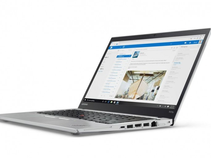 Auch ungewohnt: Das ThinkPad T470s ist auch in der Farbe Silber erhältlich (Bild: Lenovo).