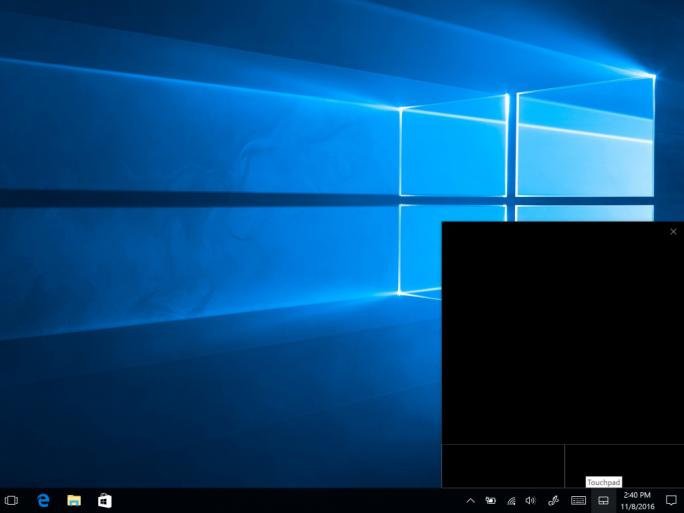 Windows 10 Vvirtual Touchpad (Bild: Microsoft)