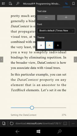 E-Books im Epub-Format lassen sich jetzt in Edge lesen (Bild: Microsoft)