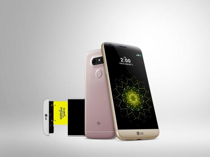 LG G5 (Bild:: LG)