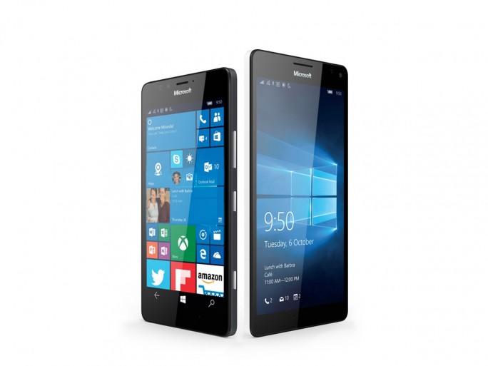 Lumia 950 und 950 XL (Bild: Microsoft)