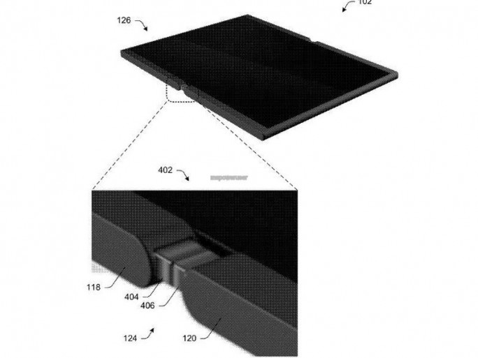 Microsoft Foldable Tablet (Bild: MicrosoftUSPTO)