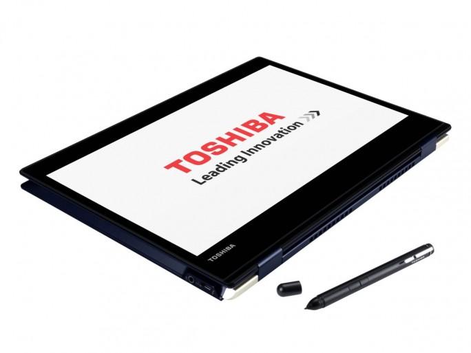 Toshiba Portege X20W-D im -Tabletmodus (Bild: Toshiba)