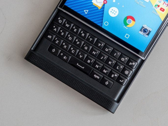 Blackberry Ptiv (Bild: Nate Ralph/CNet)