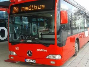 Der Medibus soll die ärztliche Versorgung in ländlichen Regionen verbessern helfen (Bild: Peter Marwan)