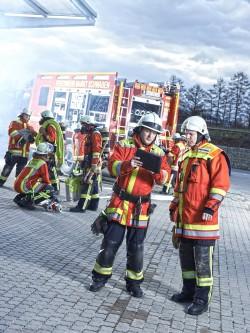 Digitales Ehrenamt: Microsoft-Technologie im Einsatz bei der Feuerwehr (Bild: Microsoft)