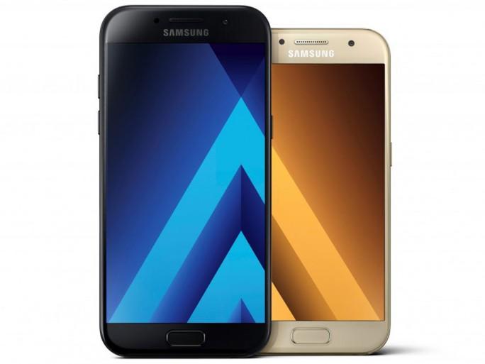 Samsung Galaxy A5, A3 - 2017 (Bild: Samsung)