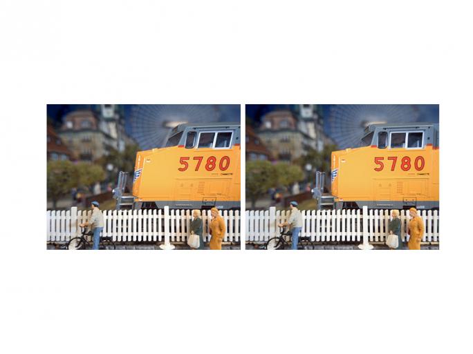 Der neue Sony-Sensor liest Bilddaten so schnell aus, dass optische Verzerrungen (linkes Foto: 1/30 S) sich bewegender Objekte deutlich reduziert werden (rechtes Foto: 1/120 S) (Bild: Sony).