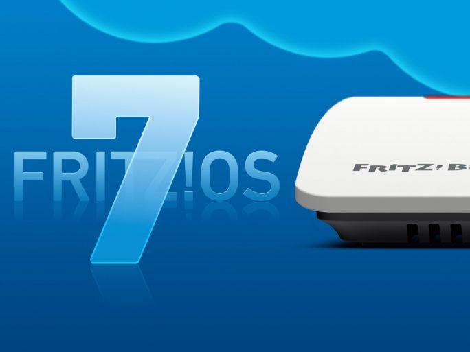 AVM FritzOS 7 mit Fritzbox (Bild: AVM