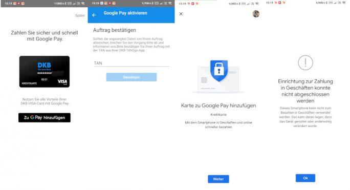 DKB-Google-Pay (Screnshot: ZDNet.de)