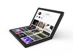 Lenovo hat für 2020 einen faltbaren PC angekündigt (Bild: Lenovo).