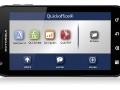 Motorola Atrix mit geöffnetem QuickOffice