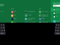 Windows 8 virtuelles Keyboard für Tippen mit Daumen